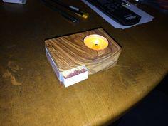 Candleholder - Olivewood Kerzenständer - Kerzenhalter - Duftkerzen - Notlicht