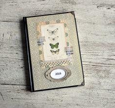 Kalendarz książkowy A5 - układ dzienny - mamuta-pl - Kalendarze A5