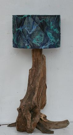 Driftwood Table Lamp, base only, 80cm tall to top of lamp holder £125.00