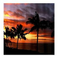 11433a75 CafePress | Best merchandise to express yourself. Hawaiian SunsetHawaiian  ...