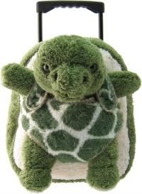 Plush Green Turtle luggage,Backpack