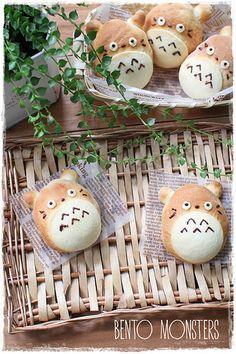Totoro Bread Bun