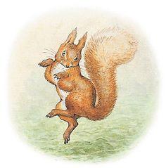 Beatrix Potter, 'Original illustration for the cover of The Tale of Squirrel Nutkin' © Frederick Warne & Co. 2006 | V