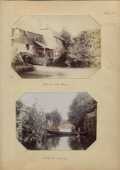 Important early Victorian Album of Local Views of Tonbrige Town Kent and Environs, museum quality and rarity. Vintage Photographs, Vintage Photos, Tunbridge Wells, Princess Beatrice, Local Photographers, Hereford, World War One, World's Fair, Vintage Country