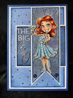 Anniebee's Craft Room: Kenny K 30th Birthday Card