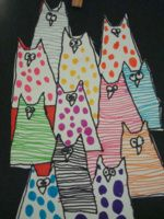 arts visuels Splat Le Chat, All About Cats, Art Plastique, I Love Cats, Cat Art, Dog Cat, Projects To Try, Snoopy, Quilts