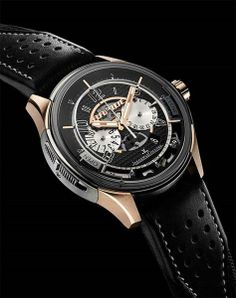 Jaeger-LeCoultre's Astin Martin AMVOX2 DBS $34,000 watch is the CAR KEY!!!!!!