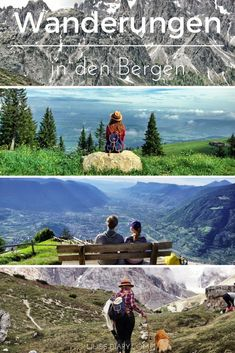 The most beautiful hikes in the mountains. Come on a breathtaking journey into the world of the mountains. Vacation Places, Places To Travel, Travel Destinations, Places To Visit, Travel Europe, Bergen, Reisen In Europa, Next Holiday, Travel And Leisure