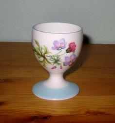 Shelley Wild Flowers 13668 Egg Cup   eBay