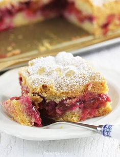 Ciasto kruche ze śliwkami. Polish Desserts, Polish Recipes, New Recipes, Cake Recipes, Vegetarian Recipes, Cooking Recipes, Shortcrust Pastry, Cool Birthday Cakes, Sweet Desserts