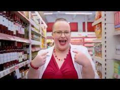 (EREDETI) Kasszás Erzsi CBA Reklám   2017 - YouTube
