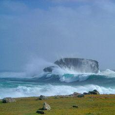 Shetland storm at Door Holm.