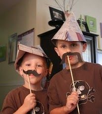 This would be a fantastic cub scout skit/craft idea. Cub Scout Skits, Scout Games, Cub Scout Activities, Fun Activities, Cub Scouts Wolf, Boy Scouts, Scout Mom, Camping With Kids, Kids Camp