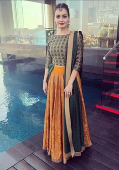 Get the latest trends ruling the charts in India. With the most fashionable range of apparels, accessories, and more, Limeroad will be your favourite of all online shopping sites. Lehnga Dress, Half Saree Lehenga, Anarkali, Indian Gowns, Indian Attire, Pakistani Dresses, Indian Sarees, Indian Wear, Indian Wedding Outfits
