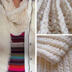Not knitting, but crochet. With tutorial. By Handwerkjuffie.