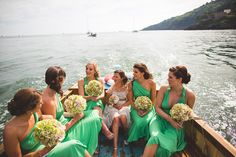 A Benjamin Roberts Fishtail Gown For A Wedding Day Boat Ride… | Love My Dress® UK Wedding Blog