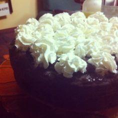 Mud Cake al cioccolato con ganache e nutella.