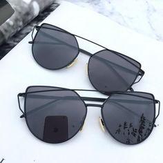 Black on black mirrored sunglasses Retro sunglasses UV protection Trending Sunglasses, Stylish Sunglasses, Retro Sunglasses, Black Sunglasses, Cat Eye Sunglasses, Sunglasses Women, Sunglasses Sale, Rose Gold Mirrored Sunglasses, Cute Glasses
