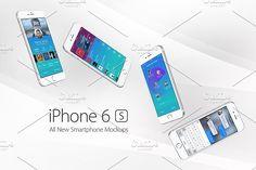 iPhone 6s Mockups @creativework247