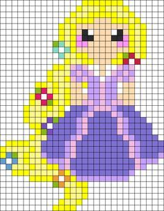 MINECRAFT PIXEL ART – One of the most convenient methods to obtain your imaginative juices flowing in Minecraft is pixel art. Pixel art makes use of various blocks in Minecraft to develop pic… Perler Bead Disney, Perler Bead Art, Perler Beads, Pearler Bead Patterns, Perler Patterns, Kandi Patterns, Art Patterns, Mosaic Patterns, Pixel Art Princesse