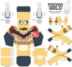 Blog_Paper_Toy_papertoy_Phidias_Gold_Mathieu_Beaulieu_template_prev