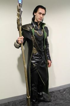 Loki costume tutorial - use as inspiration for Lady Loki