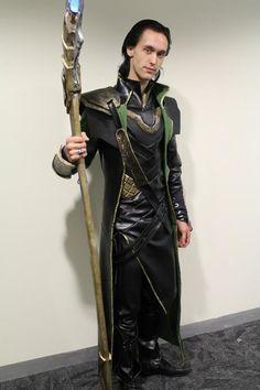 Loki costume tutorial - use as inspiration for Lady Loki