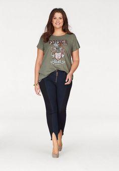 Zizzi T-Shirt für 34,95€. Lässige Form bei OTTO