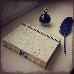 ardeas / Vintage journal A6 / bookbinding / handmade