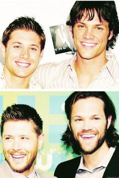 Transformation! Supernatural - Sam and Dean Winchester. Jensen Ackles and Jared Padalecki