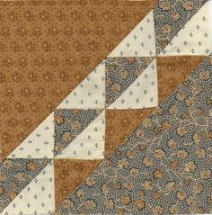 Civil War Quilt Blocks | Civil War Block 11 LONDON SQUARE