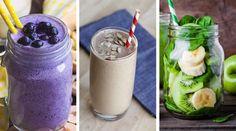 Descubre las mejores recetas de Batidos para Adelgazar rápidamente. Todos los trucos para PERDER PESO y ponerse en forma. #BATIDOS_ADELGAZAR Healthy Juices, Healthy Drinks, Healthy Recipes, Healthy Food, Smoothies, Smoothie Recipes, Ginger Juice Benefits, Workout Bauch, Eating Plans