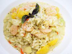 Risotto mit Avocado und Garnelen – Very (iss)ima Risotto, Avocado, Ethnic Recipes, Food, Food Food, Recipies, Lawyer, Essen, Meals