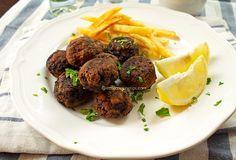 Greek Traditional Meatballs (Keftedakia)