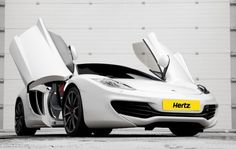 Should Hertz rent F1 inspired supercars like the MP4-12C to new American fans of the sport?
