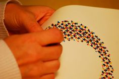 Handmade Type 2008/2009 - Evelin Kasikov – CMYK embroidery and Typographic Design – London