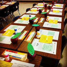 The blog of a third grade teacher...many room prep and open house ideas