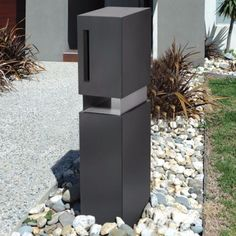 Milkcan is Australias leading provider of Letterboxes amp Fire Pits Online With a huge range designed to suit any style of home we ship same day Fire Pits For Sale, Front Yard Design, Mailbox, Valencia, Tall Cabinet Storage, Architecture Design, Concrete, Charcoal, Home Improvement