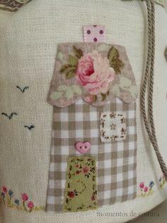 Sewing moments: A very cute taleguita ...