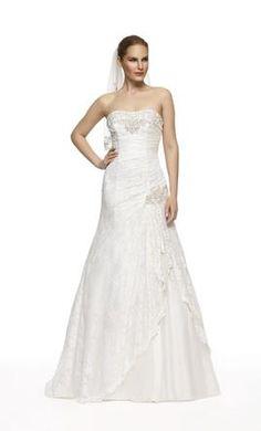 David's Bridal YP3344, find it on PreOwnedWeddingDresses.com