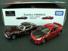 2pcs Tomica Limited Toyota 2000GT + Toyota 86 2 Model Diecast Car Set 2C452096  See your eBay favorites
