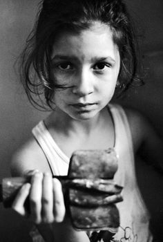 Sarajevo 1992  -I wish the link was in English.  Im going to do more research.  Powerful expression of concern on such a young girl.