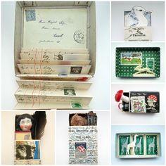 mano's welt: drawing challenge: postage stamp / briefmarke