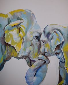 Motherly Elephant Anne Seay
