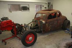 1936 Plymouth Coupe Rat Rod