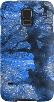Midnight Blue Magical Twilight Forest | Snap Cases, Tough Cases, & Skins for iPhones 4s/4 5c/5s/5 6/6Plus & Samsung S3/S4/S5 Galaxy Phones. **All designs available for all models.