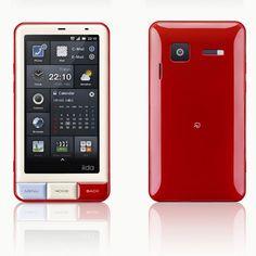 Stellist Design :: KDDI, iida INFOBAR 브랜드 안드로이드폰 A01 발표
