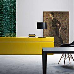 Trendy sideboards that elevate your home decor to higher grounds? Black Sideboard, Modern Sideboard, Sideboard Ideas, Credenza, Wardrobe Furniture, Furniture Catalog, Furniture Making, Modern Furniture, Furniture Design