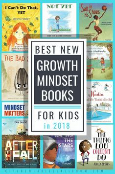 Growth Mindset Books for Kids- the Best New Books – The Kitchen Table Classroom These growth mindset books for kids are some of the newest. These books are easy ways to encourage your kids to keep on trying when things get tough. Growth Mindset Book, Growth Mindset Classroom, Growth Mindset Activities, Growth Mindset For Kids, Classroom Tools, Future Classroom, Classroom Management, Classroom Ideas, Best Books List