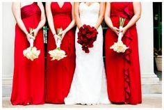 Elegant, red wedding inspiration, Tonya Beaver Photography via Aphrodite's Wedding Blog